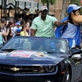 ESPN The Weekend - NBA Motorcade - Karl Malone