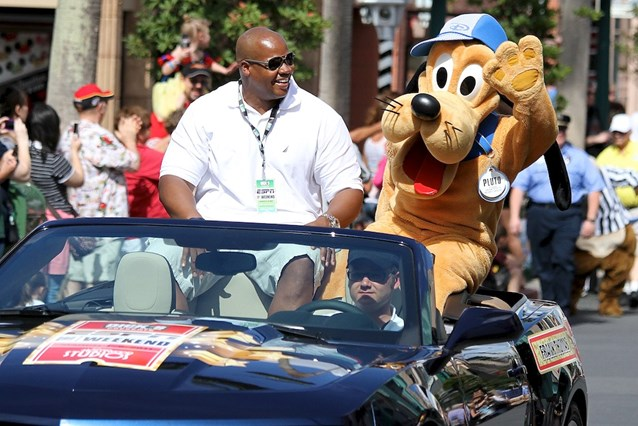 ESPN The Weekend - NFL Motorcade - Frank Thomas