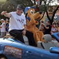 ESPN The Weekend - Jim Kelly in the 2009 ESPN Weekend motorcade