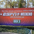 ESPN The Weekend - Main entrance billboard