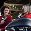 ESPN The Weekend - Sage Steele and Shawn Johnson