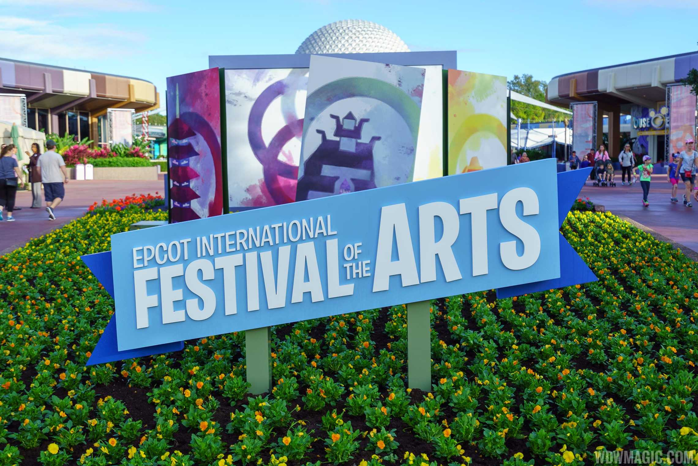 Epcot Festival of the Arts - Decor