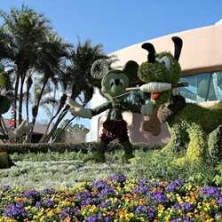 2011 International Flower and Garden Festival preparations