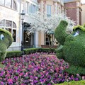Epcot International Flower and Garden Festival - Chip and Mrs Potts topiary in France