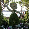 International Flower and Garden Festival - Troll topiary in Norway