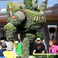 International Flower and Garden Festival - Buzz Lightyear topiary