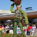 Epcot International Flower and Garden Festival - Check out the detail on Woody, even the pull-string is there around the back
