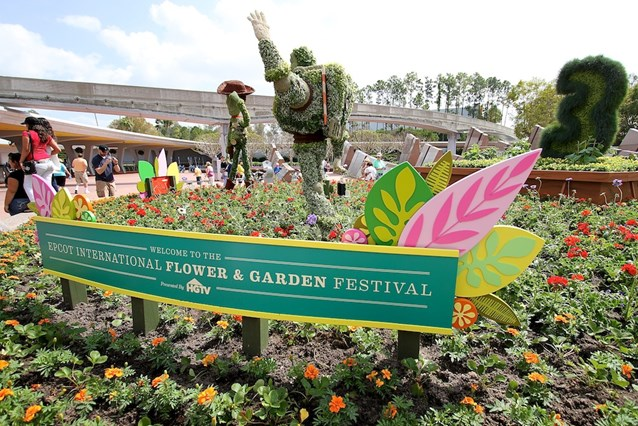 Epcot International Flower and Garden Festival - Welcome to the festival