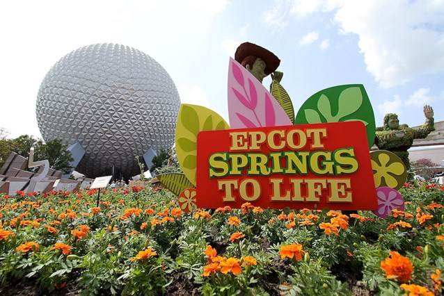 Epcot International Flower and Garden Festival - Epcot really does spring to life in March!
