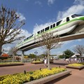 International Flower and Garden Festival - Monorail Green passes through Future World