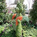 International Flower and Garden Festival - Rabbit topiary