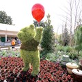 Epcot International Flower and Garden Festival - Pooh topiary