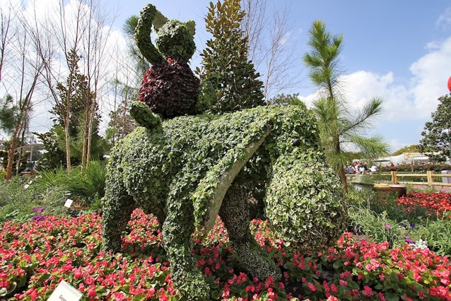 International Flower and Garden Festival - Piglet and Eeyore