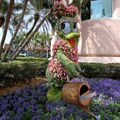 Epcot International Flower and Garden Festival - Daisy Duck gardening