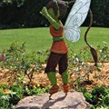 International Flower and Garden Festival - Fawn fairy topiary