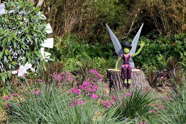 Epcot International Flower and Garden Festival - Vidia Fairy topiary