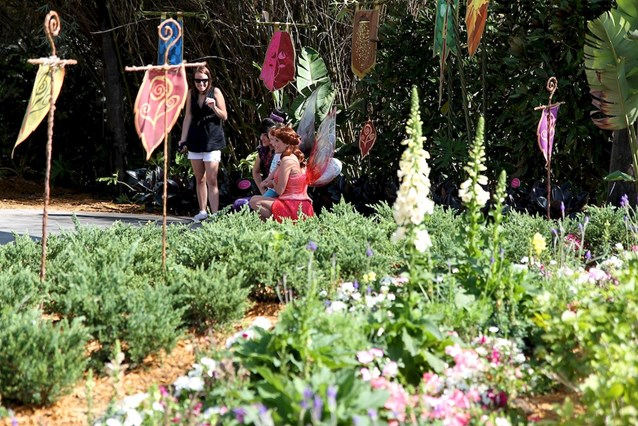 International Flower and Garden Festival - The real fairies meet and greets