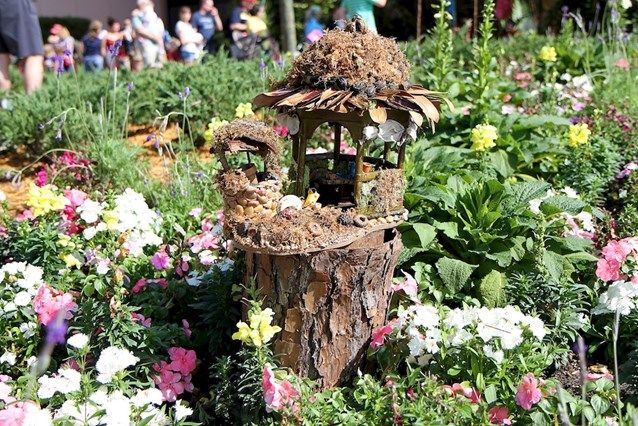 International Flower and Garden Festival - A Fairy house