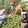International Flower and Garden Festival - Bambi topiaries inside
