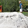 International Flower and Garden Festival - Sand sculptors preparing for another Disney Nature creation