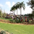 Epcot International Flower and Garden Festival - Playground along the Rose Garden walkway