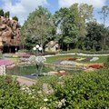Epcot International Flower and Garden Festival - The Canada Pavilion gardens