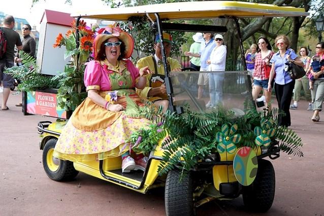 Epcot International Flower and Garden Festival - Streetmosphere
