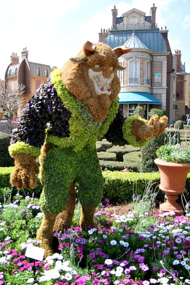 International Flower and Garden Festival - Beast in France