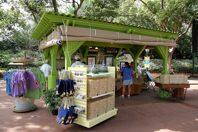 Epcot International Flower and Garden Festival - Merchandise location near to Japan
