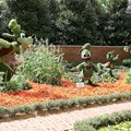 International Flower and Garden Festival - Goofy, Donald and Pluto in the gardens at the American Adventure Pavilion