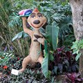 International Flower and Garden Festival - Timon topiary at the Outpost