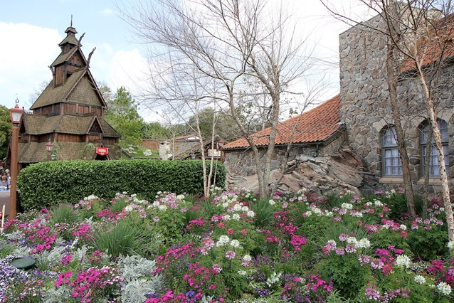 Epcot International Flower and Garden Festival - Norway in bloom