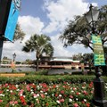 Epcot International Flower and Garden Festival - Flowers are blooming in every planter throughout the park