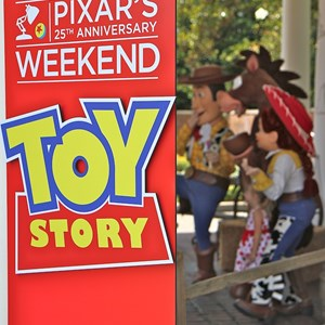 2 of 36: Epcot International Flower and Garden Festival - Pixar Weekend