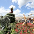 International Flower and Garden Festival - Main Entrance - Fantasia Topiary