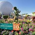Epcot International Flower and Garden Festival - 2013 Epcot Flower and Garden Festival - Main entrance topiary