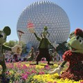International Flower and Garden Festival - 2013 Epcot Flower and Garden Festival - Main entrance display