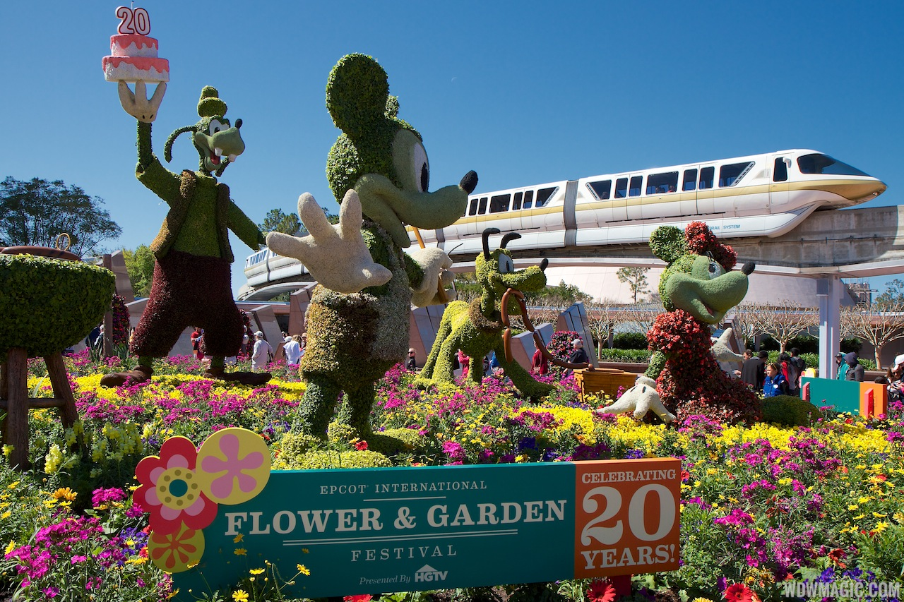 2013 Epcot International Flower And Garden Festival Opening Day Tour Photo 1 Of 127