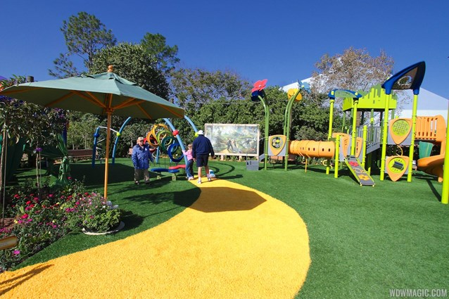International Flower and Garden Festival - 2013 Epcot Flower and Garden Festival - Land of Oz Playground