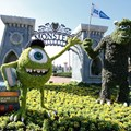 Epcot International Flower and Garden Festival - 2013 Epcot Flower and Garden Festival - Monsters Inc University topiary