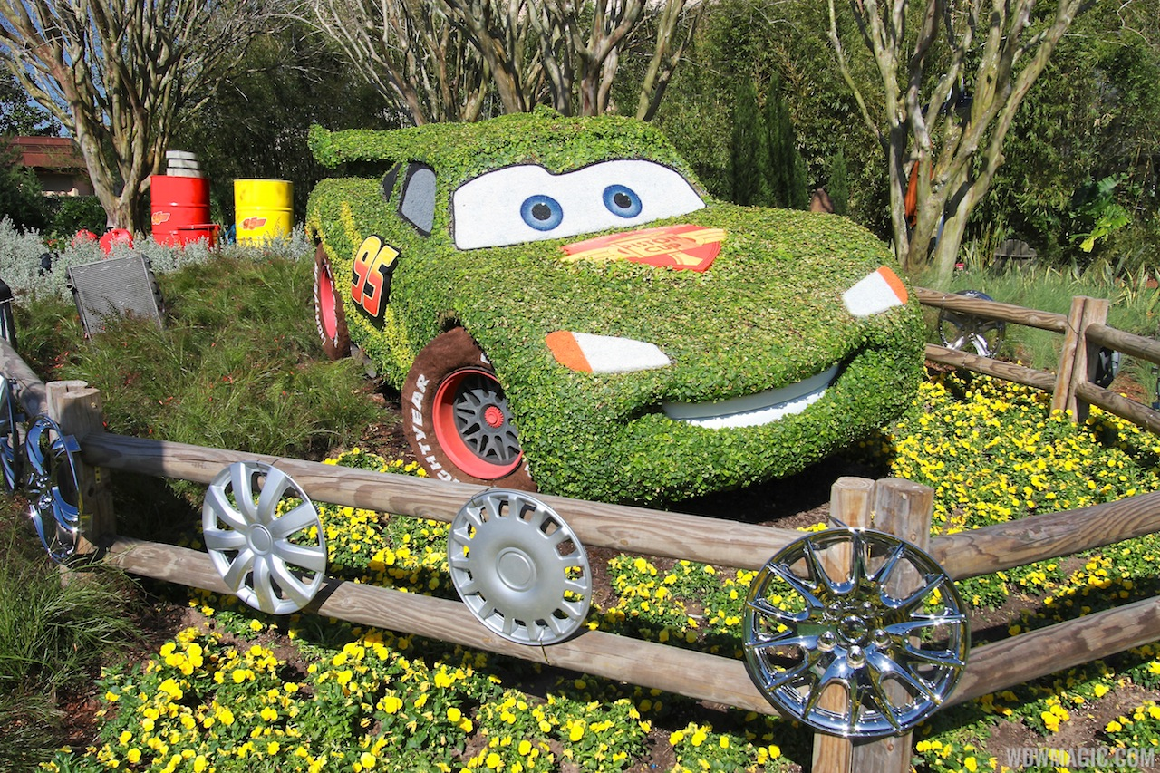 2013 Epcot International Flower And Garden Festival Opening Day Tour Photo 40 Of 127