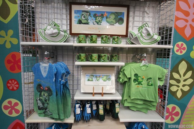 Epcot International Flower and Garden Festival - 2013 Epcot Flower and Garden Festival - Festival merchandise