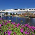 International Flower and Garden Festival - 2013 Epcot Flower and Garden Festival - Floating Gardens and monorail