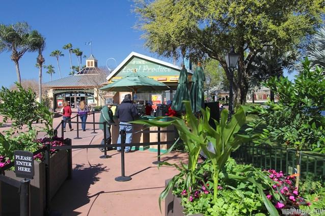 Epcot International Flower and Garden Festival - 2013 Epcot Flower and Garden Festival - Garden Marketplace - Florida Fresh