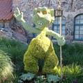 International Flower and Garden Festival - 2013 Epcot Flower and Garden Festival - Troll topiary at Norway
