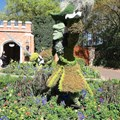 Epcot International Flower and Garden Festival - 2013 Epcot Flower and Garden Festival - Captain Hook topiary at the UK