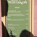 International Flower and Garden Festival - 2013 Epcot Flower and Garden Festival - Garden Marketplace - Taste of Marrakesh menu