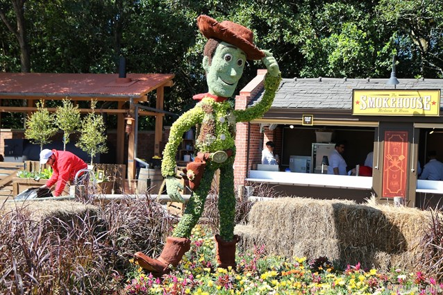 Epcot International Flower and Garden Festival - 2013 Epcot Flower and Garden Festival - Woody topiary