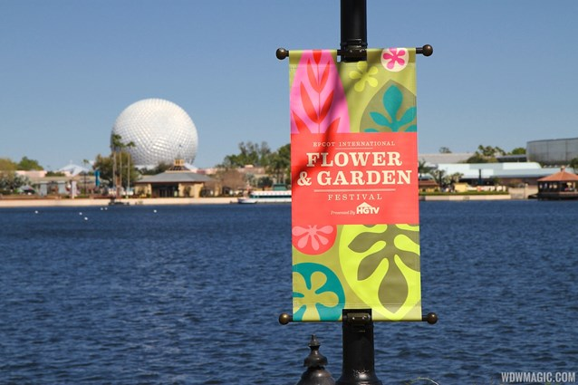 Epcot International Flower and Garden Festival - 2013 Epcot Flower and Garden Festival - Signage