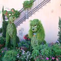 International Flower and Garden Festival - 2013 Epcot Flower and Garden Festival - Lady and the Tramp topiary
